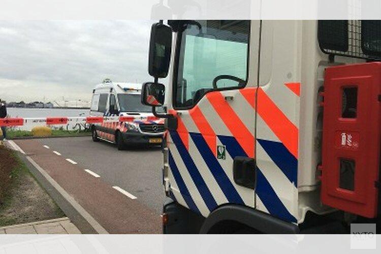 Persoon gewond aangetroffen Moezelhavenweg