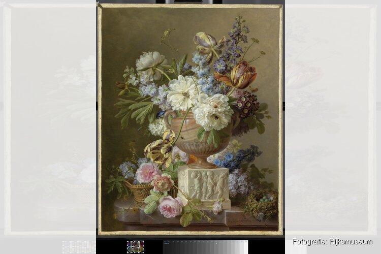 Rijksmuseum verwerft bloemstilleven Gerard van Spaendonck