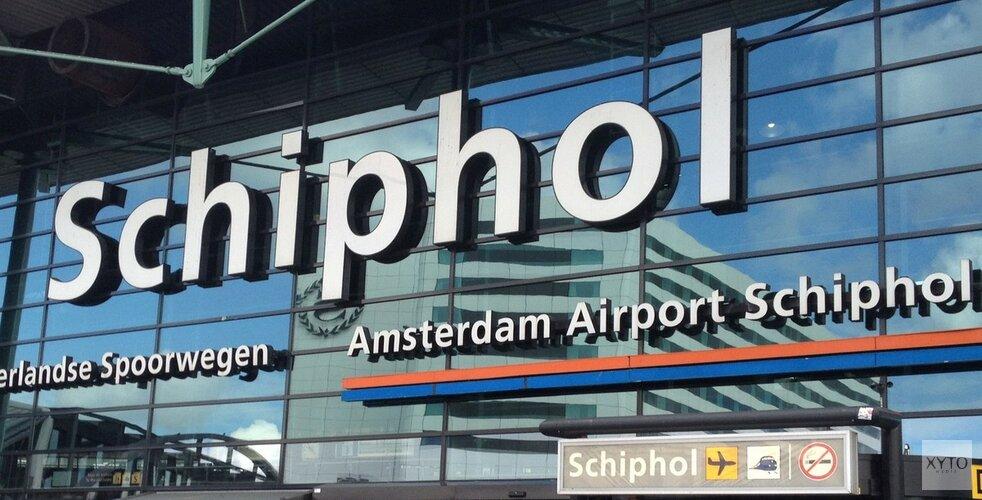 Toename van bijna twee miljoen reizigers op Schiphol