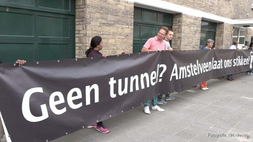 """Amstelveners voeren laatste strijd voor tunnel A9: """"Kom allemaal naar Raad van State!"""""""