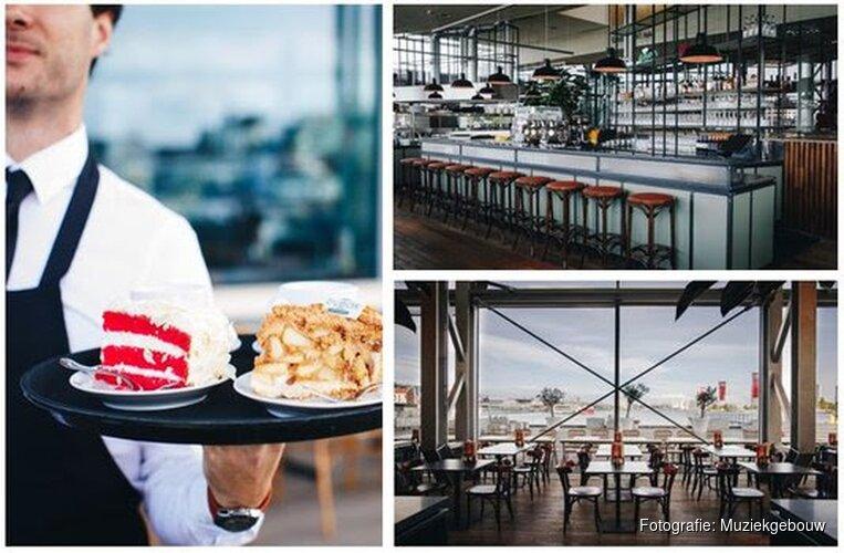 Nieuw grand café 4'33 in Muziekgebouw aan 't IJ in samenwerking met Dudok Groep