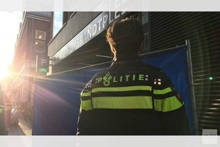 Schietincident in parkeergarage Amstelstraat