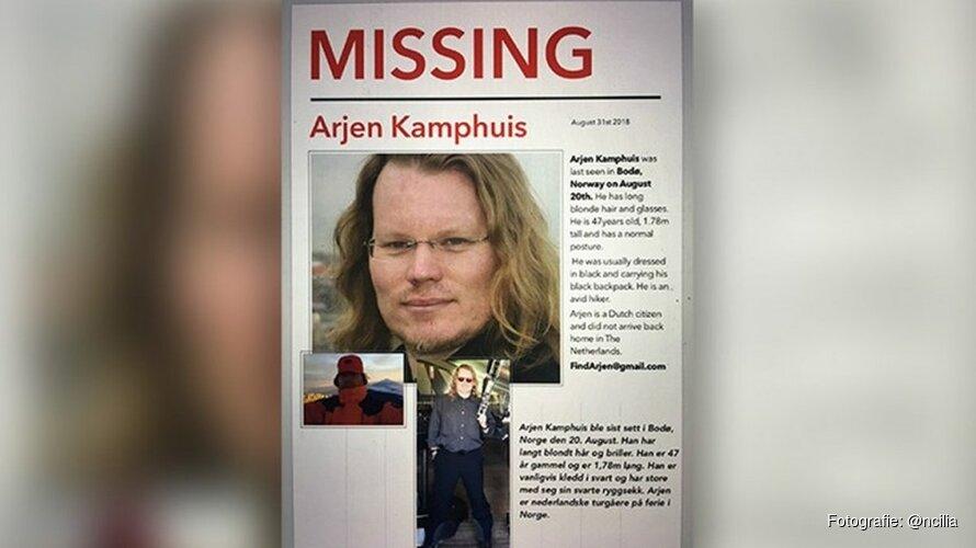 Kajak van vermiste Arjen Kamphuis gevonden