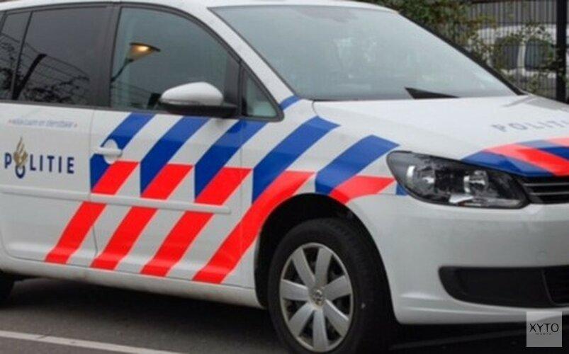 Taxi gekanteld bij ongeluk in Amsterdam