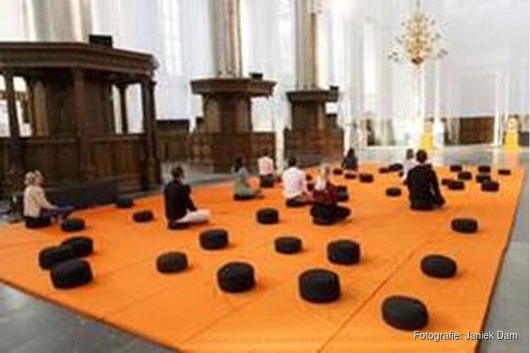 Helemaal zen in De Nieuwe Kerk