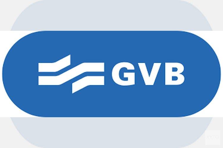 Groot deel metro's, trams en bussen in Amsterdam rijdt niet door storing GVB