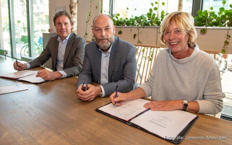 Amsterdam sluit duurzaam energiecontract met energieleverancier Greenchoice