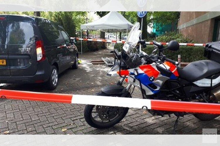 Motoragent schiet verdachte neer op de De Wittenkade