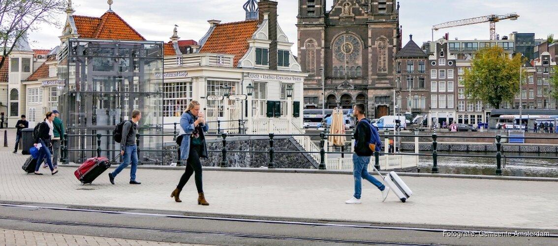 Toeristenbelasting omhoog naar 7% in hele stad Amsterdam