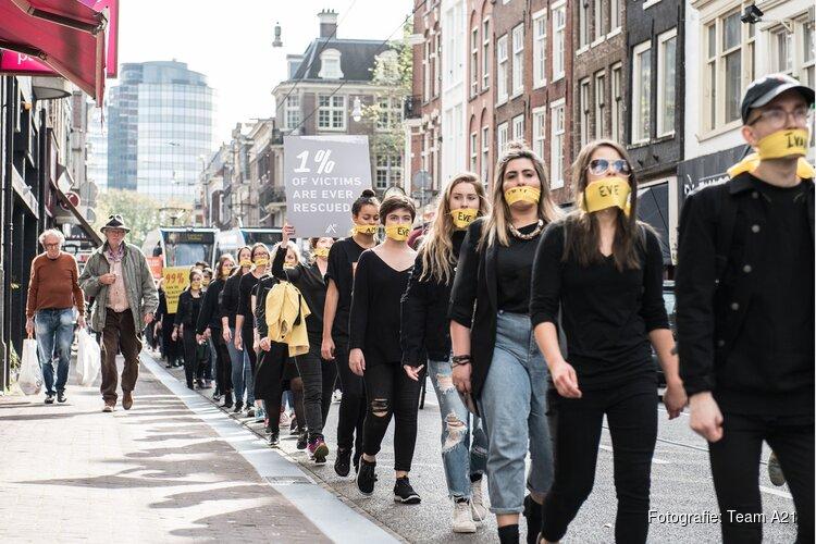 Internationale organisatie tegen mensenhandel brengt duizenden op de been in strijd tegen moderne slavernij