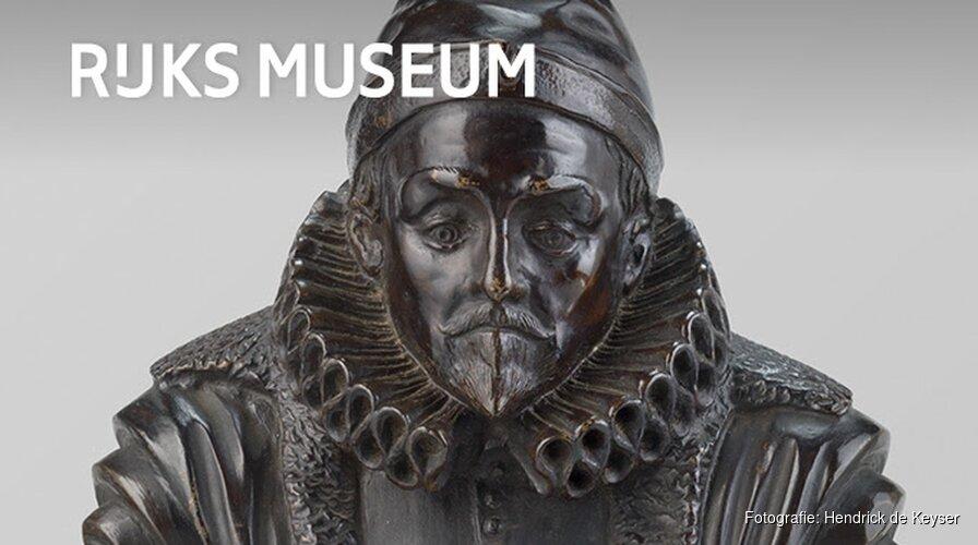 Rijksmuseum verwerft miniatuur-buste Willem van Oranje