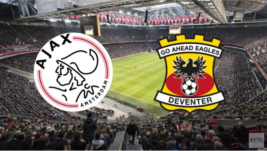 Ajax moeiteloos langs Go Ahead Eagles in KNVB Beker