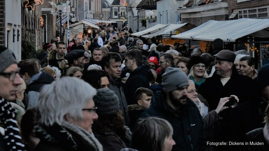 Enorm succes breekt Dickens in Muiden op: evenement gaat niet door