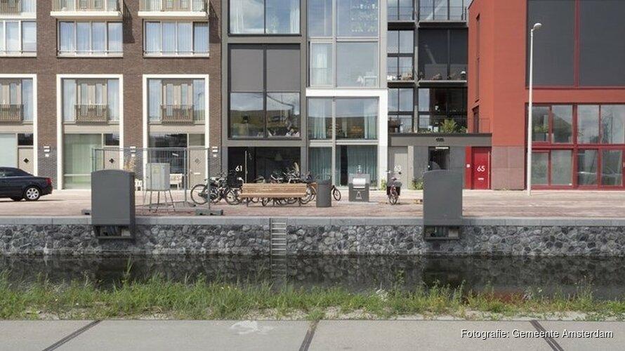 Dippen met je tenen in het IJ: 7500 woningen per jaar erbij in Amsterdam