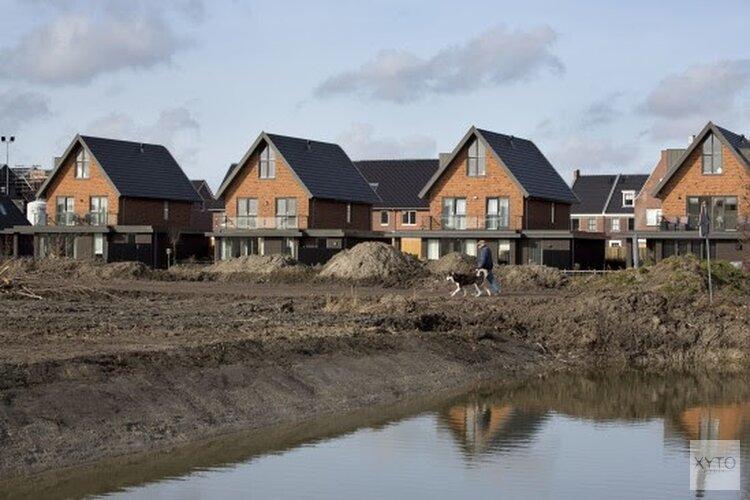 Minder woningen gebouwd dan gepland in Noord-Holland