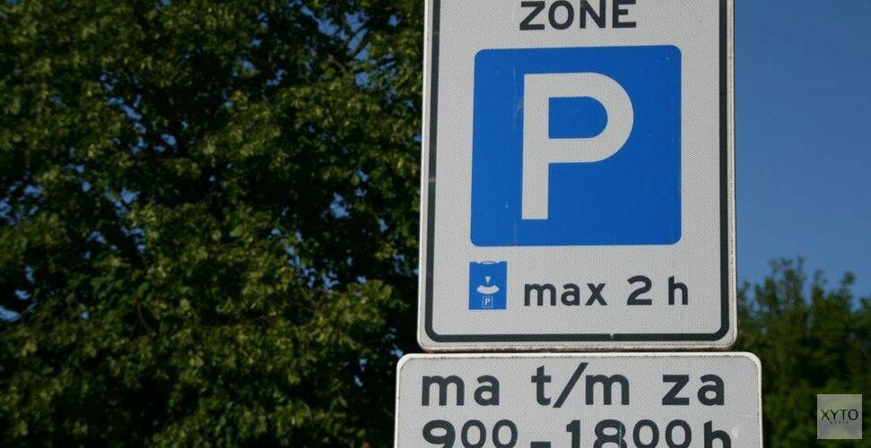 Aankondiging Controle blauwe zones in week 47