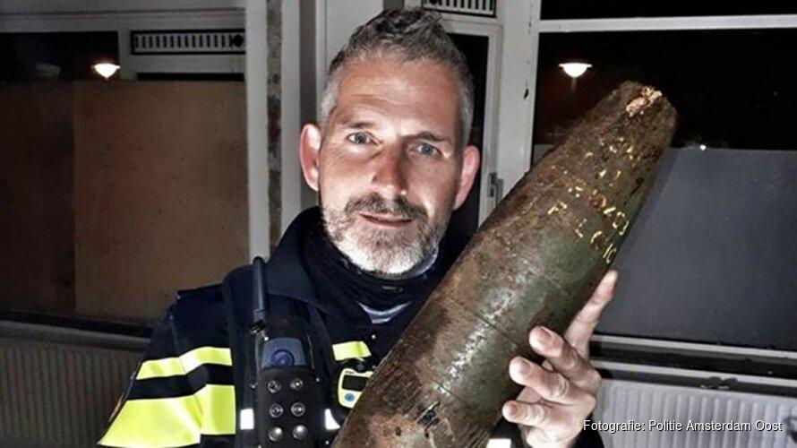 Bouwvakkers vinden bom uit WO II in achtertuin Amsterdam