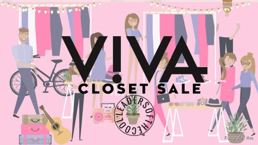 De VIVA redactie en bekende influencers verkopen mode-items uit hun eigen kast voor het goede doel