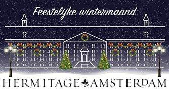 Een feestelijke wintermaand in de Hermitage Amsterdam