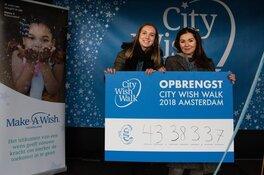 Eerste City Wish Walk Amsterdam een daverend succes