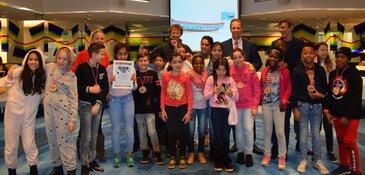 Milieuhelden van Amstelveen gaan plastic vissen