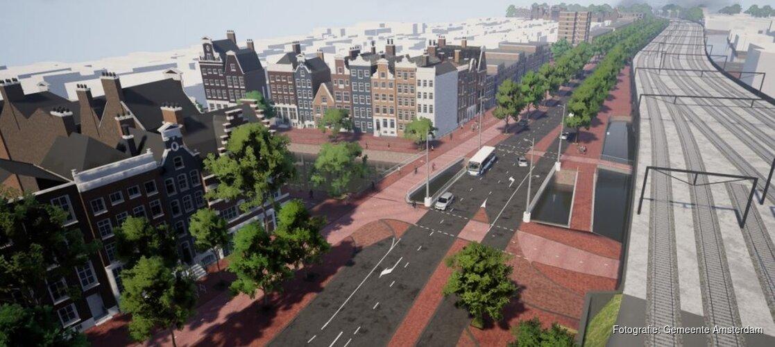Nieuwe doorgaande fietsverbinding tussen Westerpark en Centraal Station
