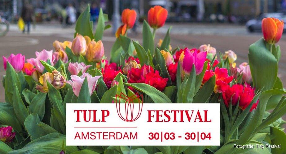 Tulp Festival zet Amsterdam in bloei
