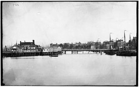 De verdwenen haven van Amsterdam