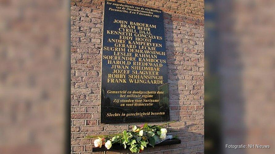 Amsterdam herdenkt de Decembermoorden
