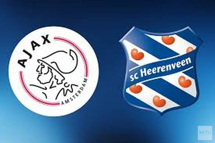 Ajax-vrouwen na rust langs Heerenveen