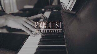 De 140 optredens tijdens de eerste editie van PianoFest zijn uitverkocht!