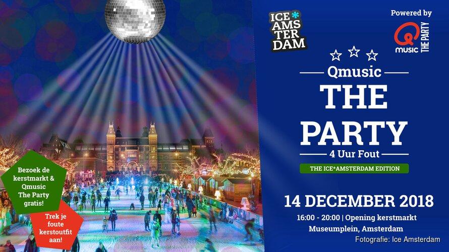 Kerstmarkt Museumplein opent morgen op spectaculaire wijze met Qmusic The Party!
