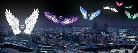 #BeKind2019: engelen strijken neer in Amsterdam