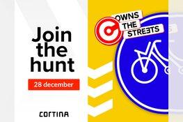 Fietsmerk Cortina past fietsbord aan naar Amsterdams straatbeeld
