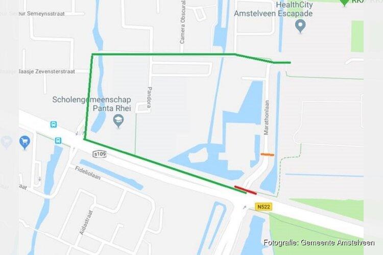 Reconstructie Burg. Boersweg – Oranjebaan – Marathonlaan - calamiteitenpad