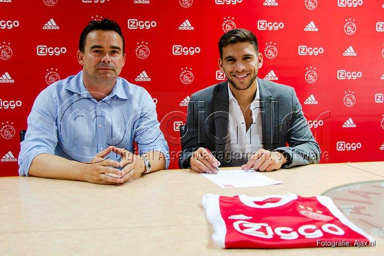 Ajax contracteert Lisandro Magallán