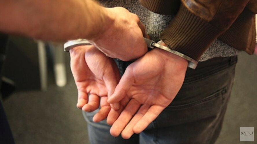 Vier mannen aangehouden voor het bezit van een vuurwapen