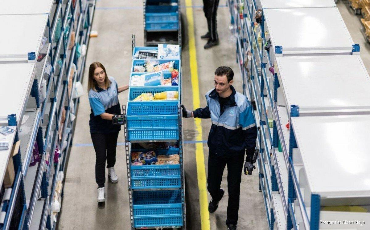 Dekbed Albert Heijn.Albert Heijn Opent Distributiecentrum Voor Thuisbezorging In Amsterdam