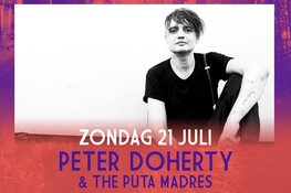 Peter Doherty & The Puta Madres toegevoegd aan programma Live at Amsterdamse Bos