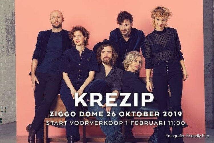 Krezip komt terug met optreden in Ziggo Dome