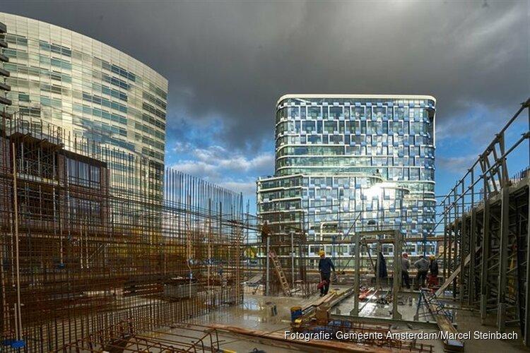 In Amsterdam wordt volop gebouwd