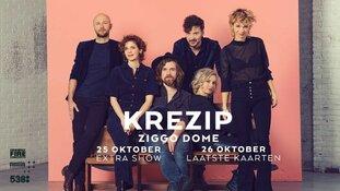 Krezip kondigt tweede show aan in Ziggo Dome