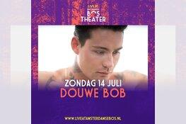 Douwe Bob toegevoegd aan programma Live at Amsterdamse Bos