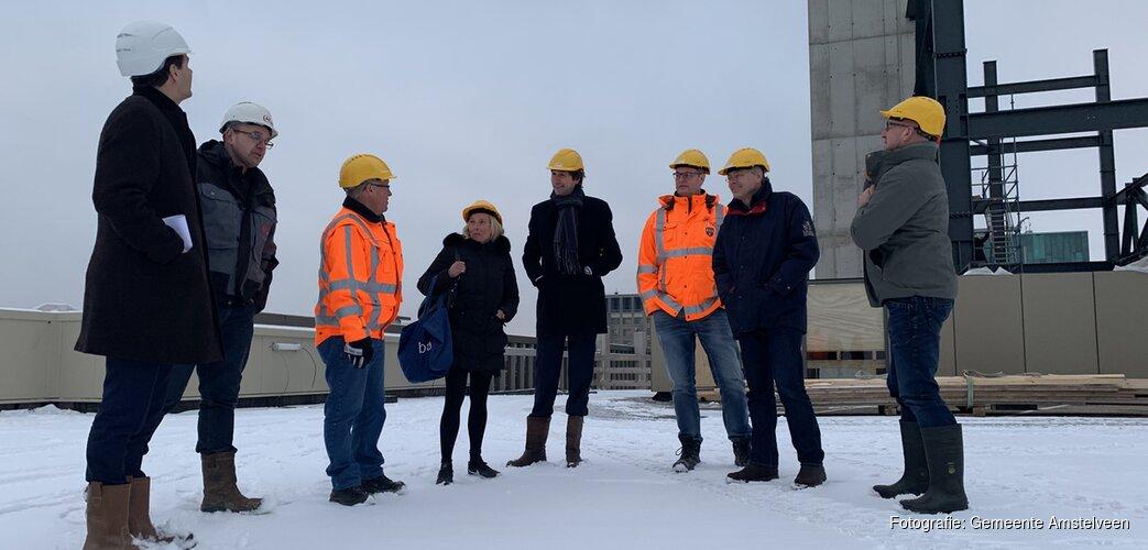 Excursies naar bouwplaats in Stadshart