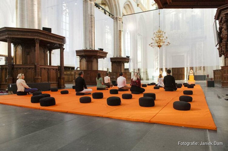 Het leven van Boeddha in De Nieuwe Kerk Amsterdam
