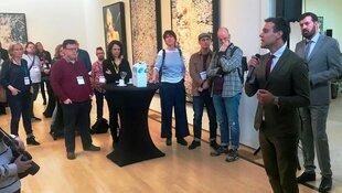 Kunstcongres met perspectief in Amstelveen