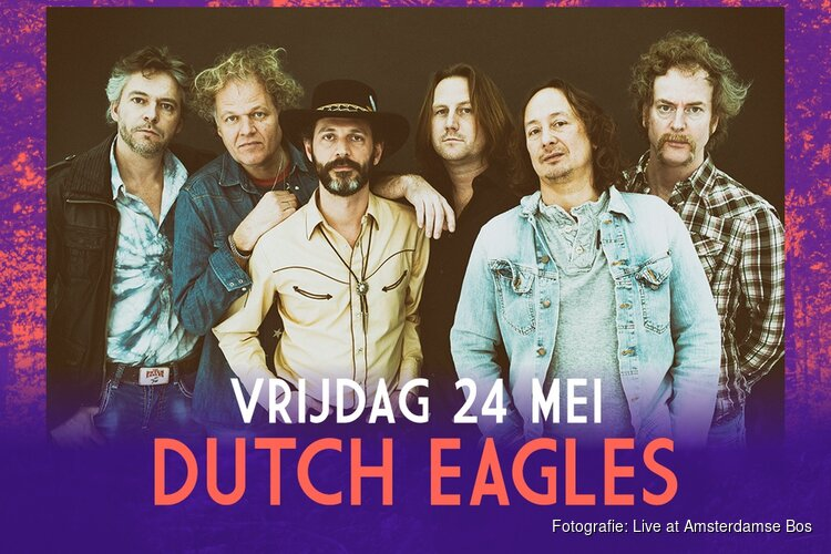 Dutch Eagles toegevoegd aan programma Live at Amsterdamse Bos