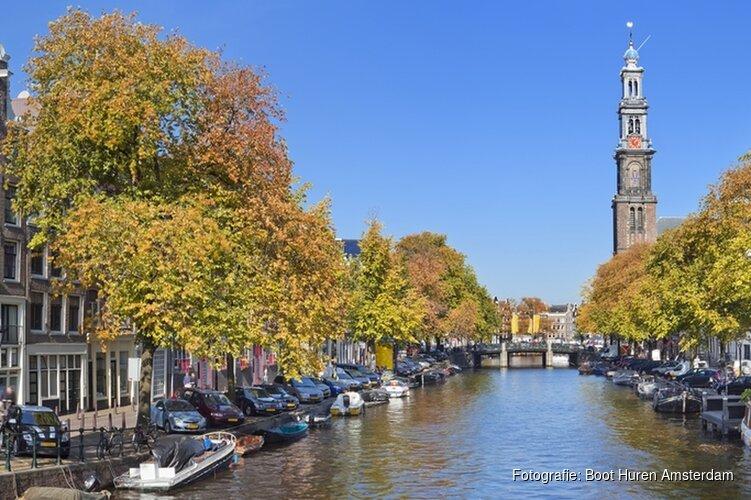De 5 mooiste vaarroutes in Amsterdam