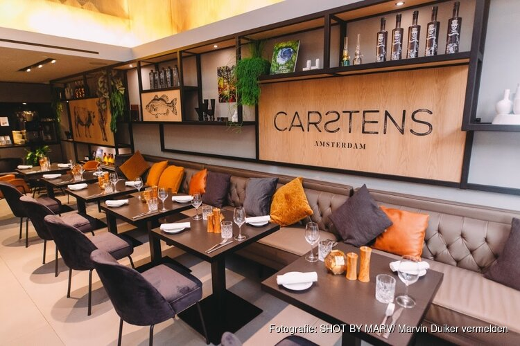 Carstens Amsterdam open voor lunch