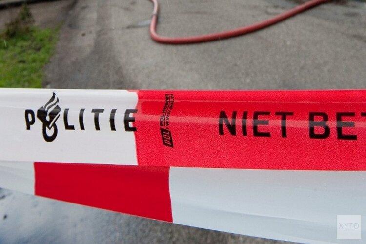 Politie zet straat in Amsterdam deels af vanwege reconstructie dodelijk geweldsincident
